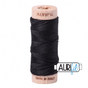 Aurifloss - 6-strand cotton floss - 4241 (Very Dark Grey)